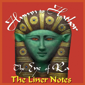 Hymn Hathor Booklet cover